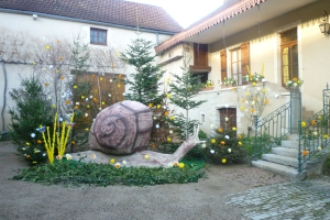 But you can't forget snails at Domaine Prudhon