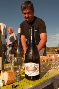 A Sancerre enjoyed in Corton!