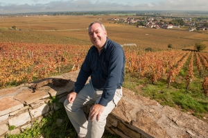 Greg Love walked from London to Burgundy and looks good on it ! I found him in Vosne Romanée