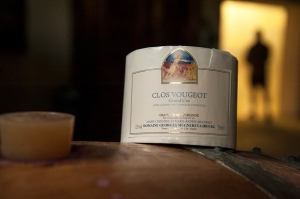 Mugneret-Gibourg's Clos de Vougeot label