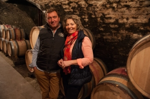 Louis Boillot and Ghislaine Barthod at Chambolle-Musigny