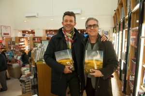 Two the boys from Quebec who took home the President's barrel still have enough euros for a couple of books !