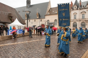 Beaune, colourful and noisy during this weekend.