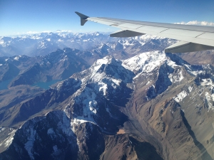 From Santiago to Mendoza