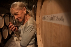 Lalou Bize Leroy smells her 60th vintage !