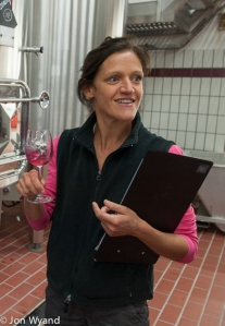 Ludivine Grivault is pretty pleased with her first vintage at Les Hospices