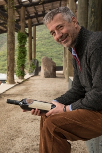 Another super Eduardo, Chadwick, who set up Vina Sena with Robert Mondavi but now owns it 100%.