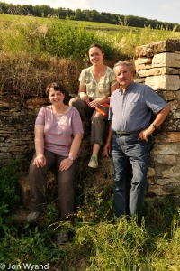 The Bouzereau-Gruere family from Meursault are very proud of their Bressandes. A lovely B+B in Chassagne-Montrachet.