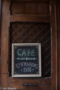 Can't beat an empanada, but get it at El Rapido !