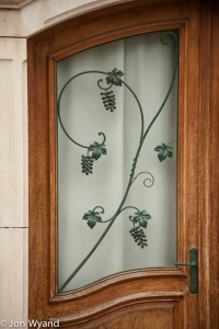 Sorry, can't drive past a good door. Common problem for observant photographers apparently...This one in Chablis.