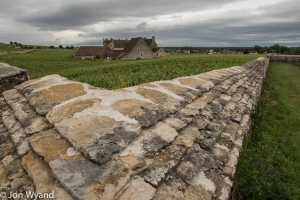 Clos du Vougeot under the cloud