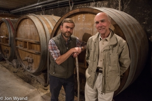 8.30 Domaine de Villaine and its Pierre de Benoit with his uncle Aubert de Villaine in Bouzeron
