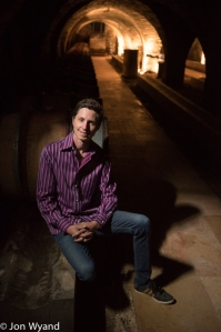 Sylvain Loichet at Chorey-les-Beaune. Winemakers just keep getting younger !