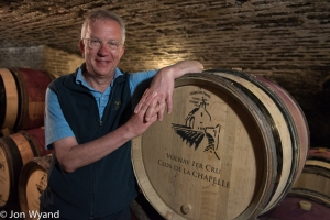 Mark O'Connell got hooked over five years ago and now owns Domaine de la Clos de la Chapelle overseen by Pierre Meurgey