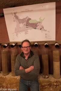 Michel Mallard in Ladoix, proud of his local terroirs around Corton.