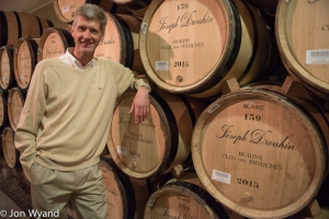 Philippe Drouhin has survived tasting Chablis Grand Cru at 7 in the morning.