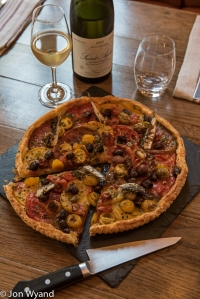 Provencale tarte to share.