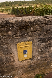 Question, which vineyard has its own postbox..?
